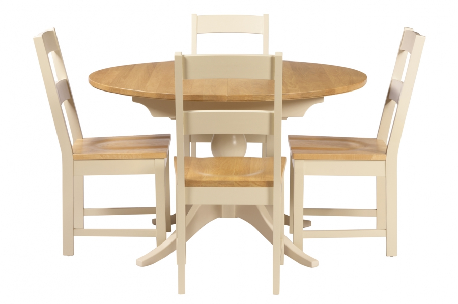 Oakham Round Extending Dining Table