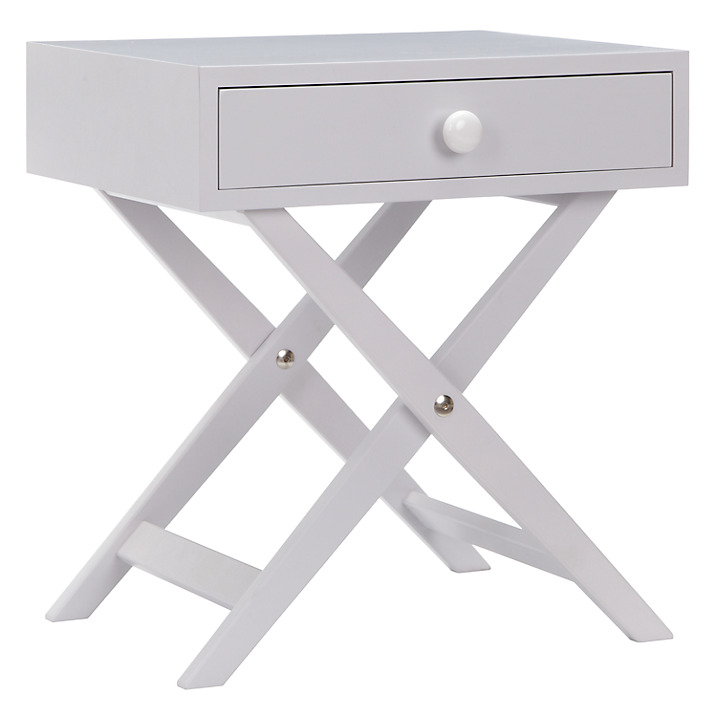 Lomond Campaign Bedside Table